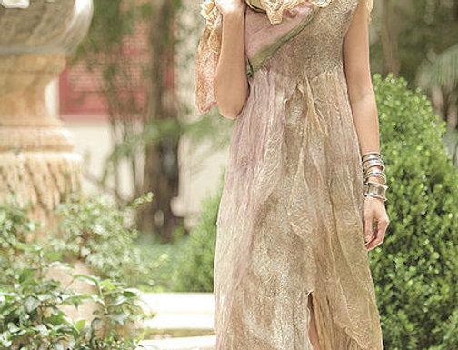 "Dress Pattern ""Nimfalia"" with Instructions"
