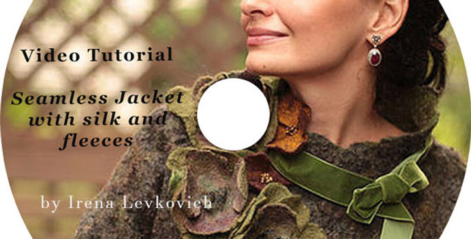 """Video Tutorial """"How to make JACKET with Silk&Fleeces"""""""