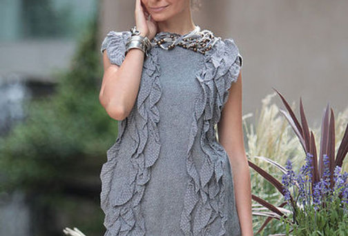 "Size S-M. Will Send You ""Grey"" Dress"