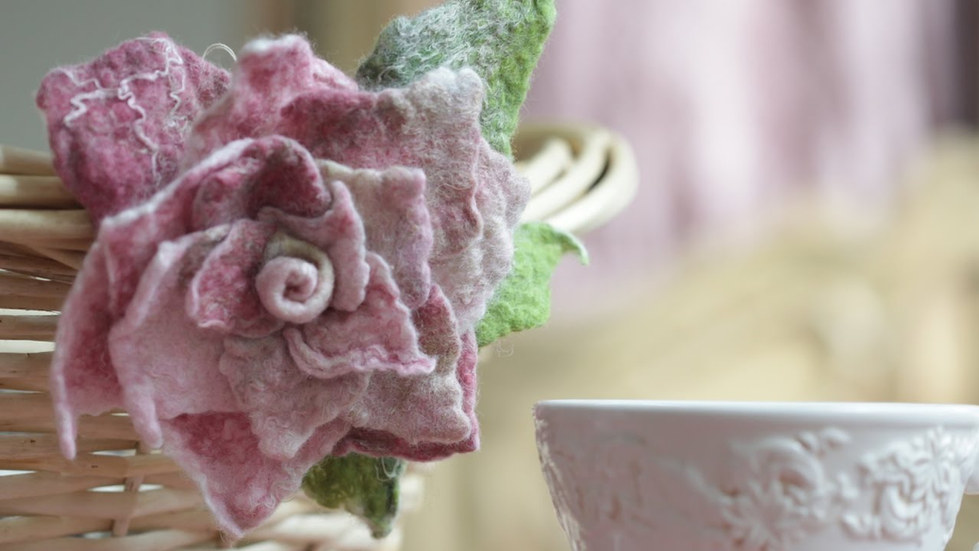 """Tea Rose"" Free Tutorial"