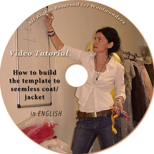 "VIDEO Tutorial (ENG) ""How to BUILD TEMPLATE to JACKET"""