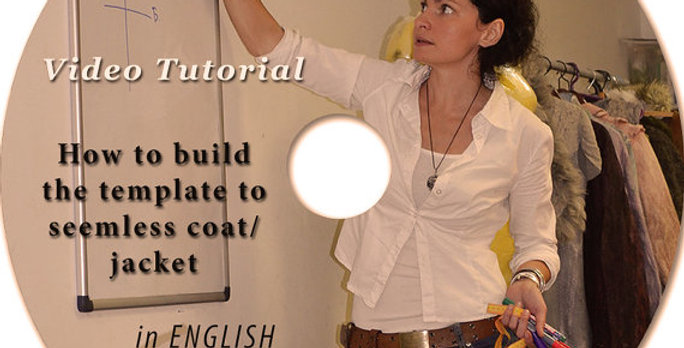 """VIDEO Tutorial (ENG) """"How to BUILD TEMPLATE to JACKET"""""""