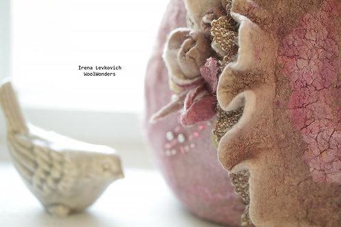 "Art Project ""Small Pink Purse"""