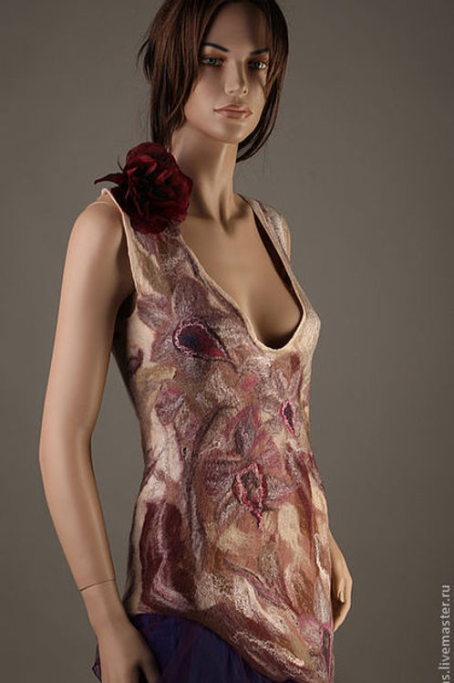 """Size M-L. Will Send You """"Wine Orchids"""" Dress"""
