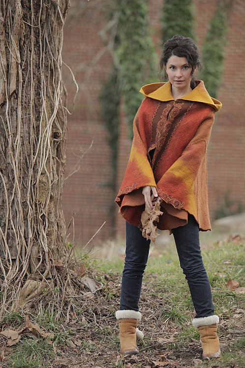 """Template for the Poncho """"Legends of the Fall"""""""