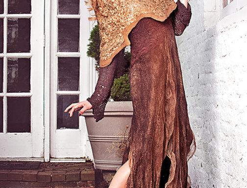"""Dress Pattern """"Mistress of Copper Mountain"""" & Inst"""