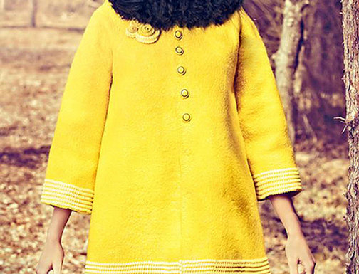 """Size M-L. Will Send You. """"Yellow"""" Coat"""