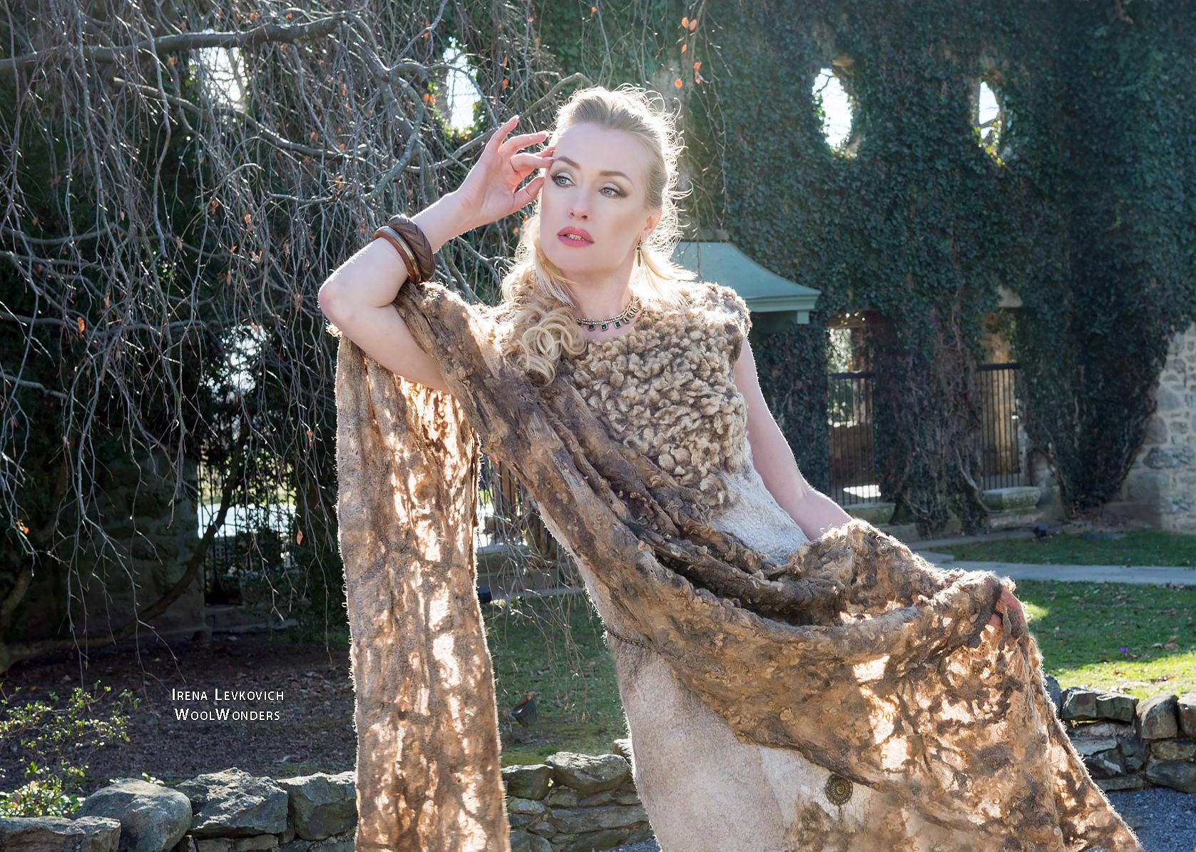 TUNIC DRESS SOFT LAMB