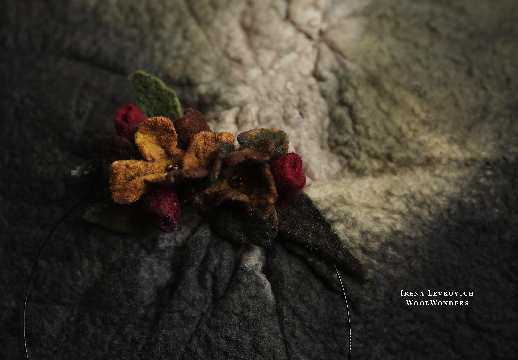 NECKLACE BRF Le petit bouquet pour e