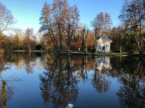 Locations Amiens - gîte Chés Mouchs dans les Hortillonnages à Amiens