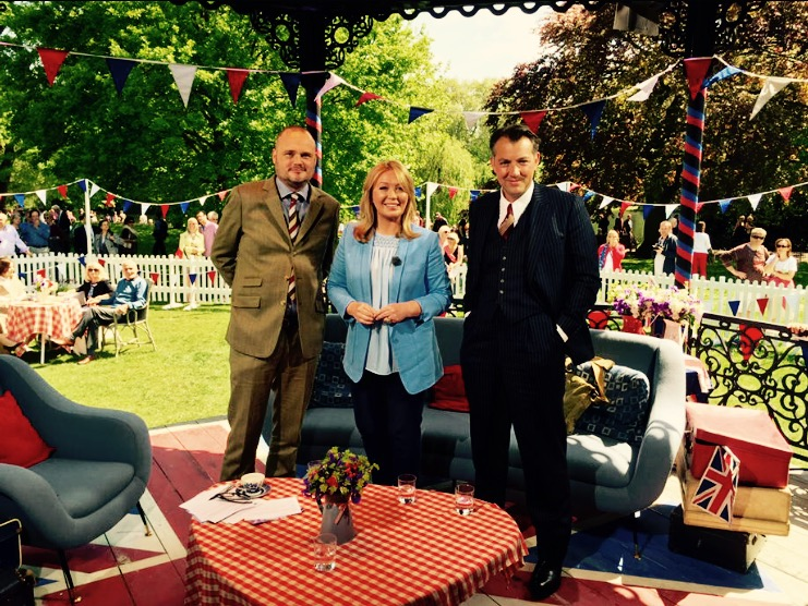 Kirsty Young - VE Day 2015