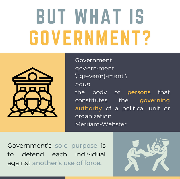 But What is Government? 1/2