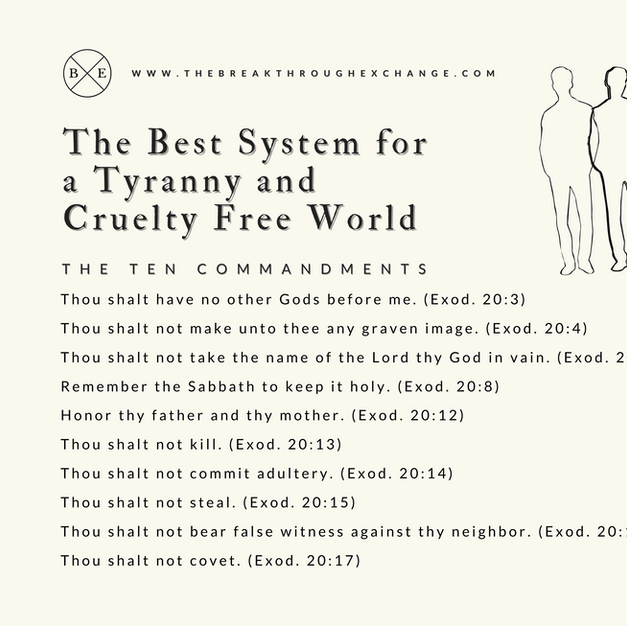 The Best System for a Tyranny and Cruelty Free World