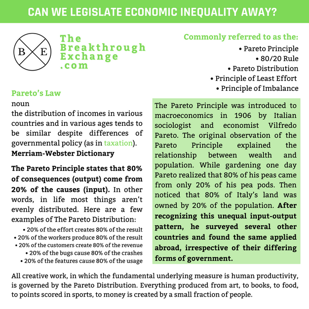 Can We Legislate Economic Inequality Away?
