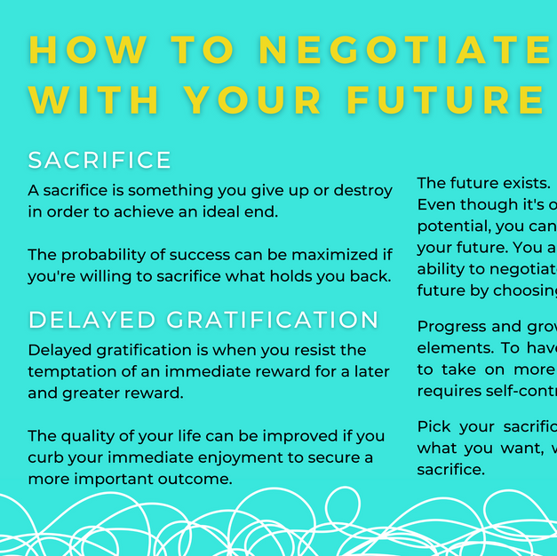How to Negotiate with Your Future?