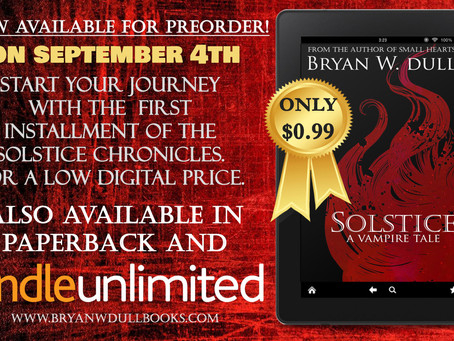 Solstice & Equinox (The Solstice Chronocles Part 1 & 2) Now Available for Preorder!