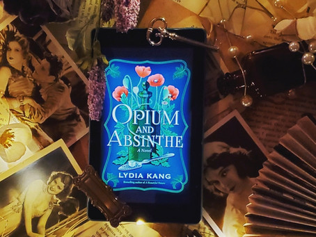 Opium and Absinthe by Lydia Kang-Quick Book Review by Brandy Michelle