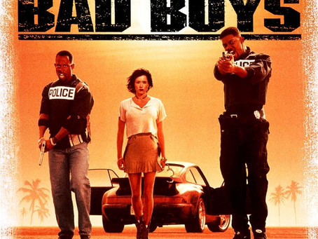 My 50 Favorite Movies of All Time: #49-Bad Boys (1995) Will Smith