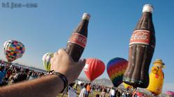 Kijas Coca Cola Hot Air Balloon