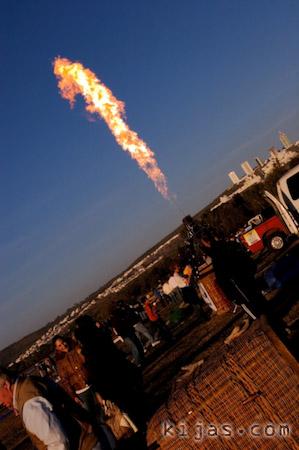 Kijas Hot Air Balloon Fire