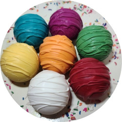Assorted Color Hot Cocoa Bombs