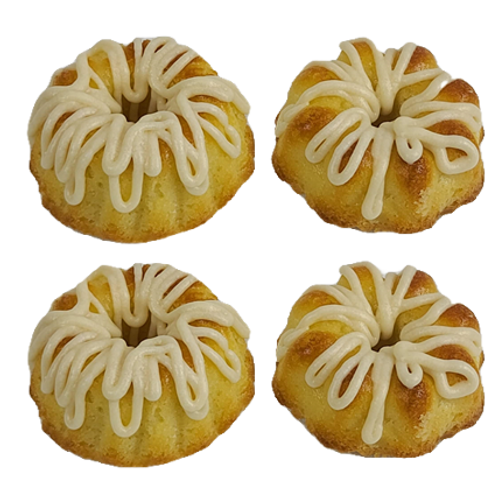 Mini Vanilla Pound Cakes - A Miniature Taste of Home