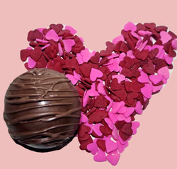 Milk Chocolate Hot Cocoa Bomb with Heart