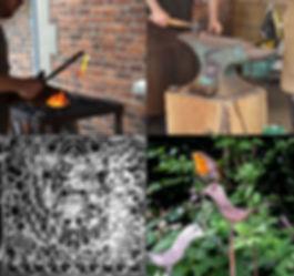Blacksmith anvil forge