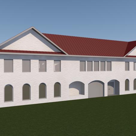 Building Plan for The Salih Self Development Center.
