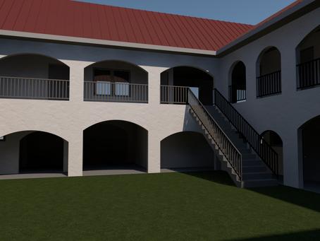 Building Plan for Salih Self Development Center.
