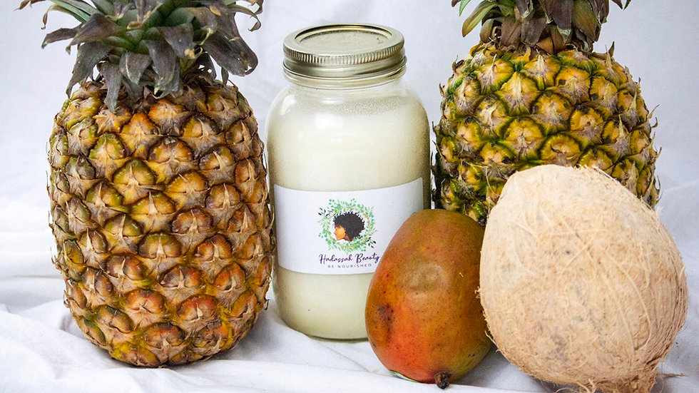 Hadassah Beauty Piña Coloda Scented Shea Butter