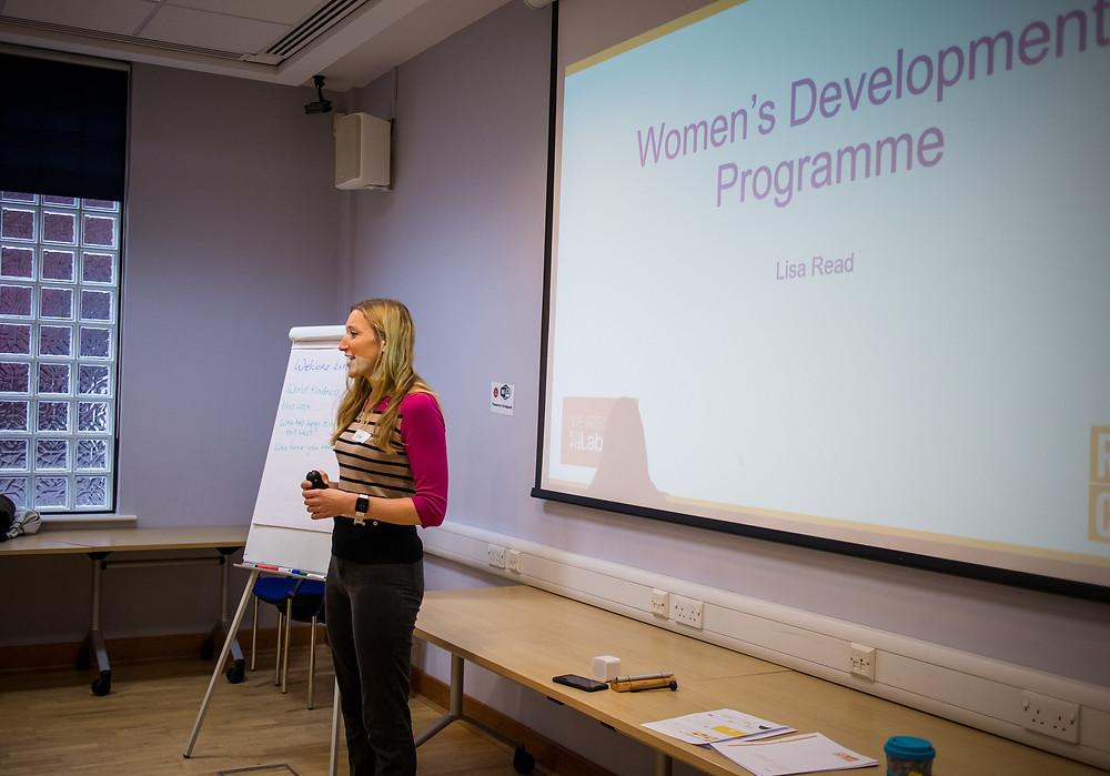 Lisa Reed leading the Labour Women's Development Programme in Sheffield