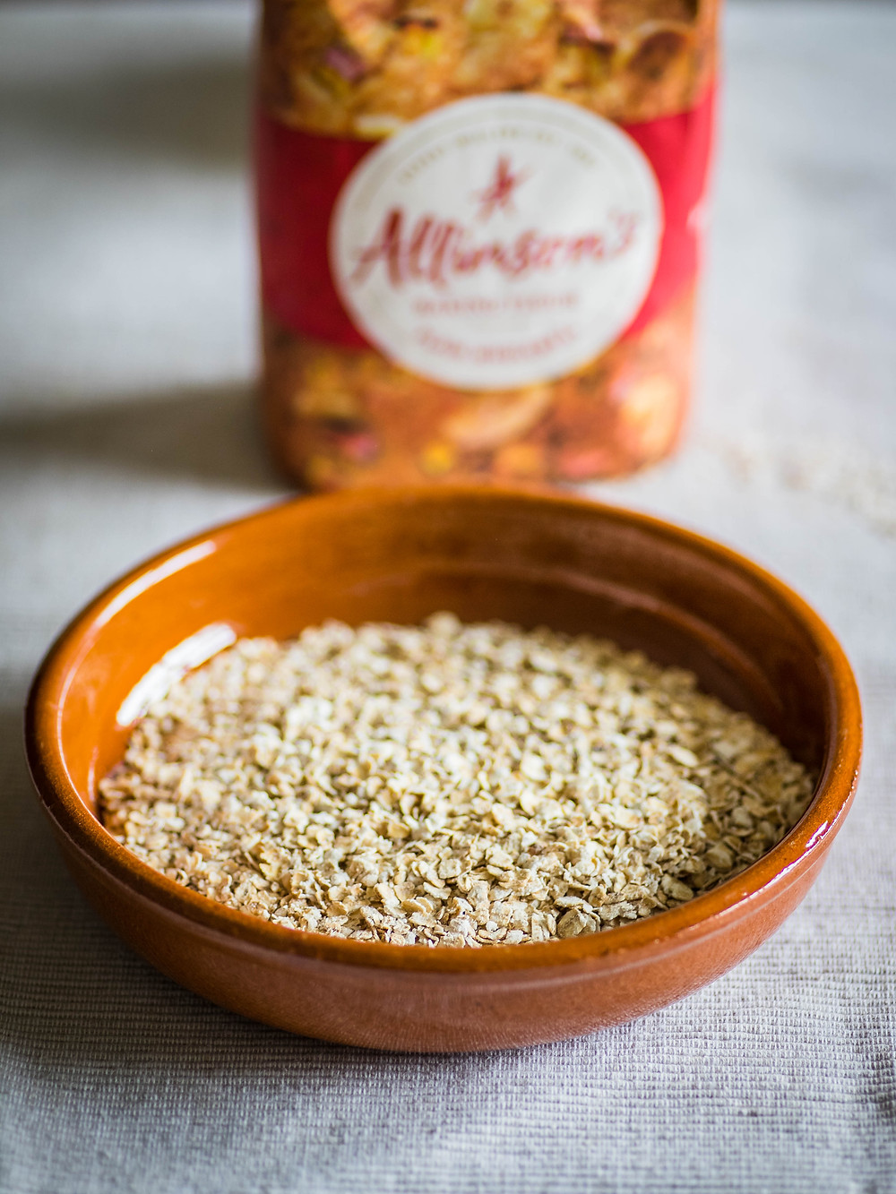 Oats and wholemeal flour