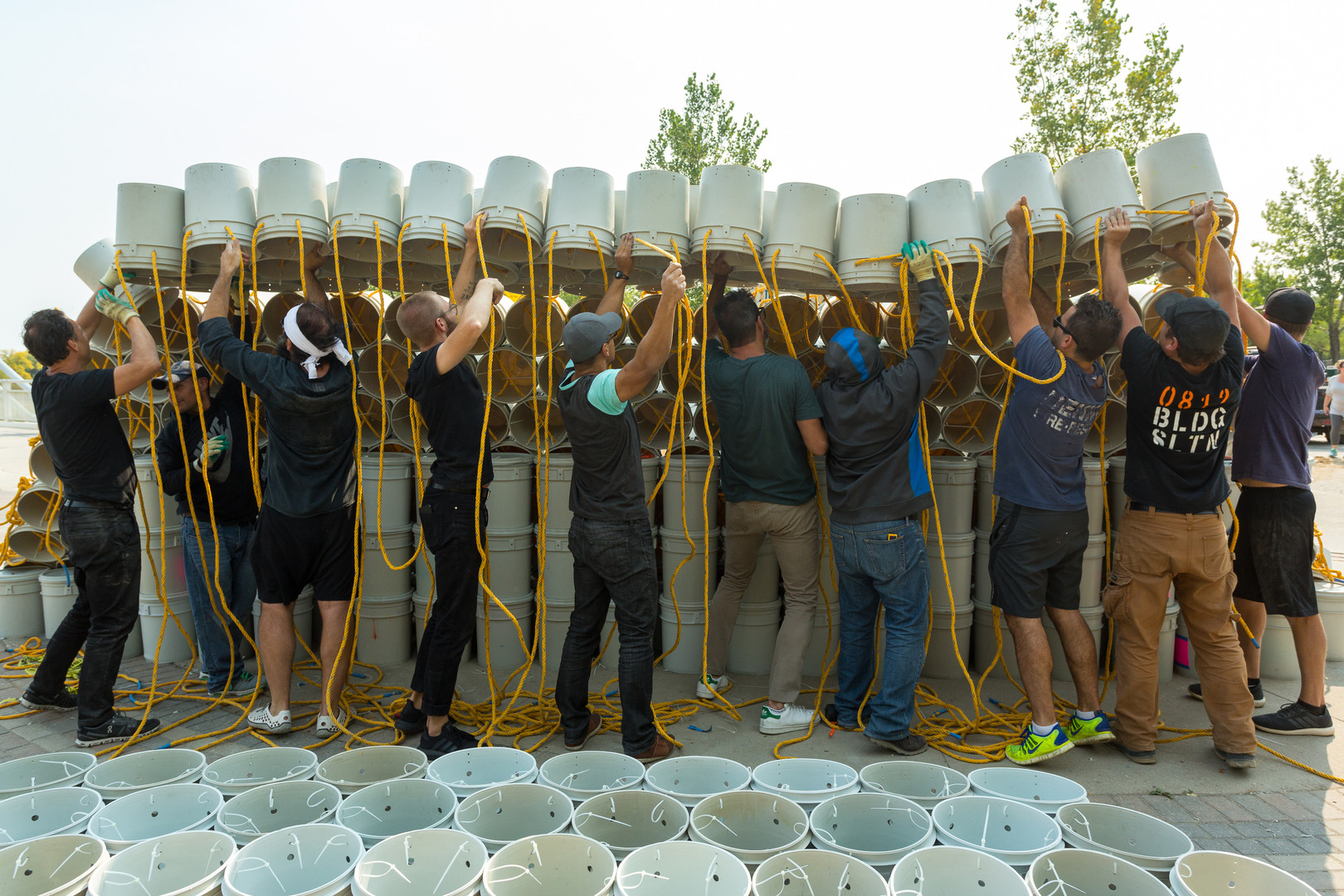 ONE BUCKET_IN PROGRESS | 546 Arch + Fact