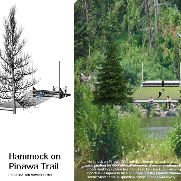 Hammock on Pinawa Trail
