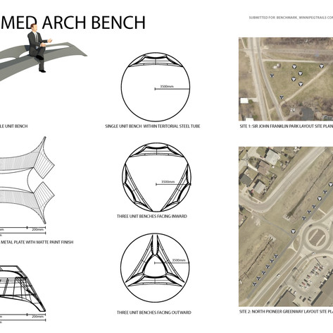 Deformed Arch Bench