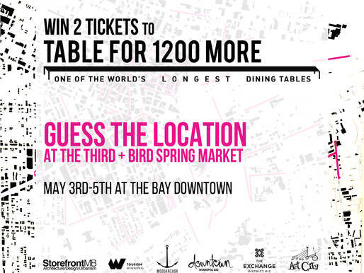 WIN 2 TICKETS TO TABLEFOR1200MORE!
