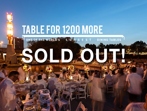 TableFor1200More SOLD OUT!