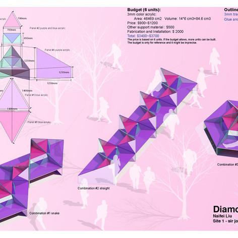 Diamond Bench