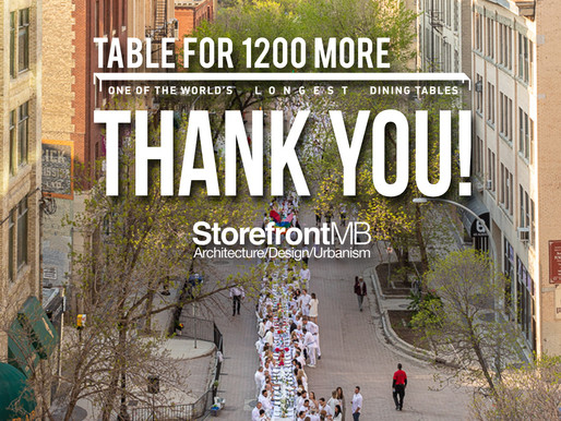 TableFor1200More: Thank YOU!