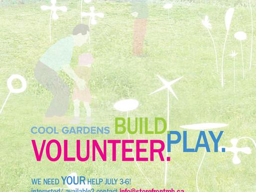 Volunteer Opportunity!