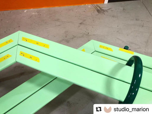 PIICNIIC Bench ready for install!