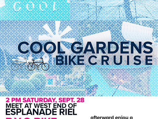 Cool Gardens Bike Cruise