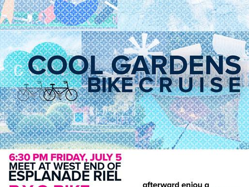Cool Gardens 2019: Bike Cruise!