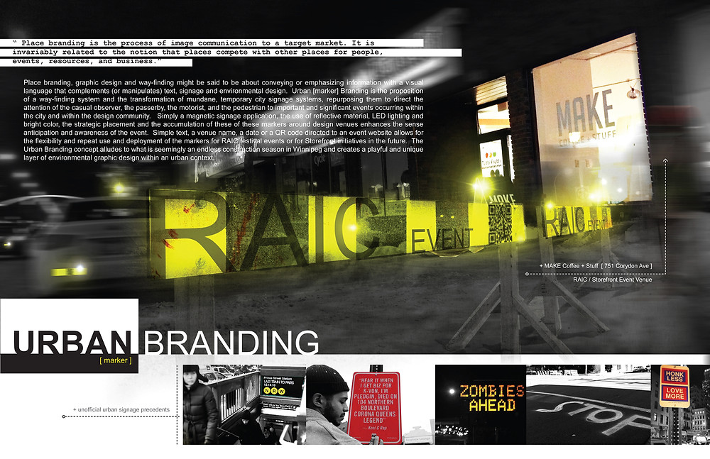 2014 Architecture Fringe Festival Urban Marker Competition