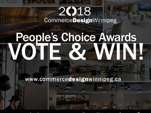 CommerceDesignWinnipeg People's Choice Award
