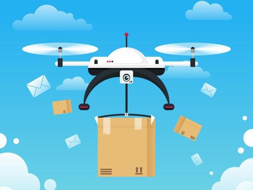 Drones de livraison, entre compagnies américaines et le marché européen