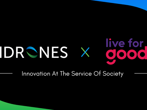 Hdrones rejoint le programme Entrepreneur For Good 2020 de Live for Good !