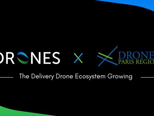 Hdrones intégre le Cluster Drones Paris