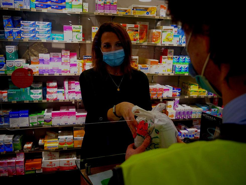 Télépilote Hdrones en pharmacie